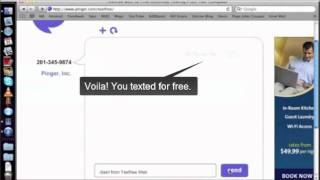 How to text for FREE - PC / Android / iPAD / iPhone / iPod