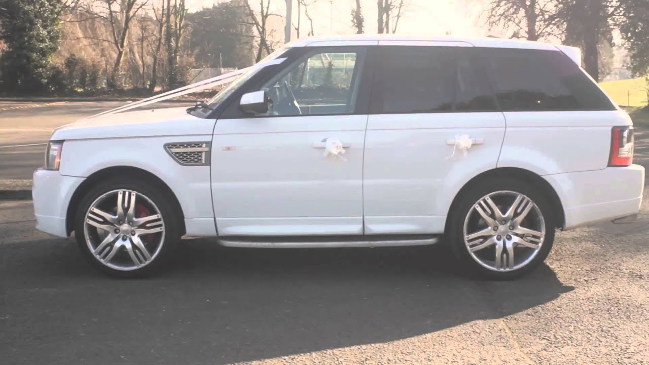 Range Rover Sport Chauffeur Car Hire Service for Weddings Prom