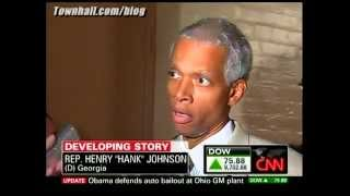 Hank Johnson is officially retarded