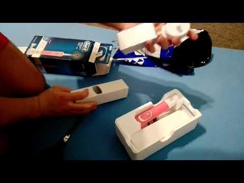 Электрическая зубная щетка ORAL-B BRAUN Vitality 3D White/D100 Pink (4210201262169)
