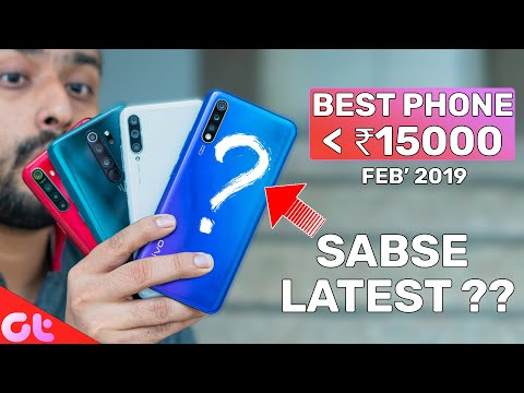 TOP 5 BEST PHONES UNDER 15000 In FEB 2020 | Sabse Latest Kaunsa? | GT Hindi