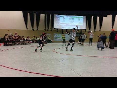 Apple City Roller Derby  v Atomic City Roller Girls - 3/14/15 -  2nd half
