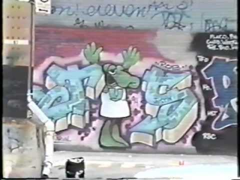 Graffiti TV - Co-op City, Bronx, NY - 1993