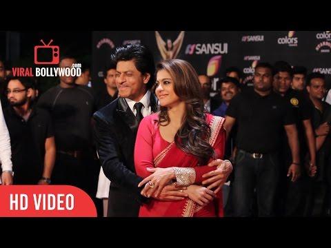 Shahrukh Khan & Kajol   Sansui Colors Stardust Awards 2015