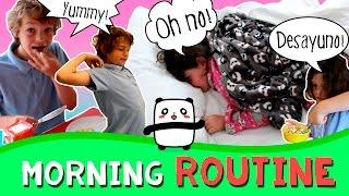 Nuestro MORNING ROUTINE * Os enseñamos nuestra RUTINA DE MAÑANA thumbnail