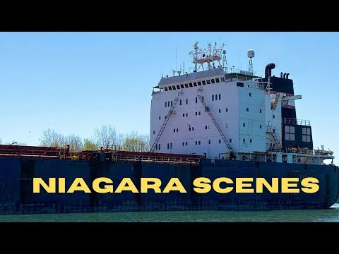 Bulk Carrier ALGOMA GUARDIAN Approaches Lock 7 on the Welland Canal