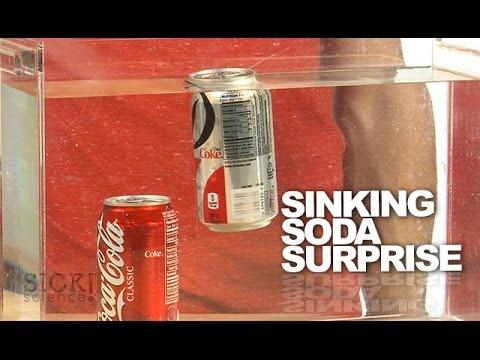 Sinking Soda Surprise - Sick Science! #174