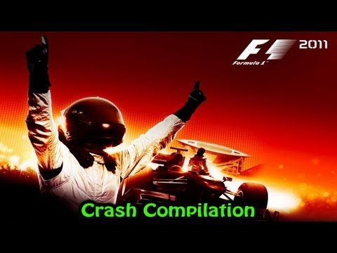 F1 2011 PC - Crash Compilation