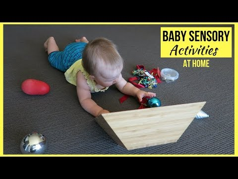 8 SENSORY ACTIVITIES FOR BABIES | DIY ENTERTAINING BABY TOYS