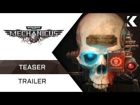 Warhammer 40,000: Mechanicus - Тизер Трейлер