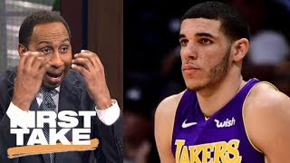 Stephen A. Smith is 'petrified' Lonzo Ball is a bust | First Take | ESPN thumbnail