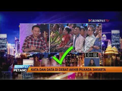Data dan Fakta Debat Final Pilkada Jakarta