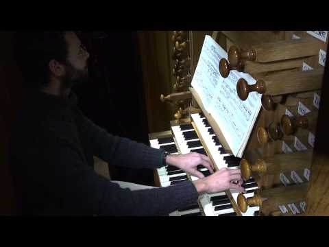 Benjamin ALARD, Orgue –  J.S.  BACH - Choral de Leipzig : Nun komm, der Heiden Heiland - BWV 659