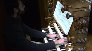 Benjamin ALARD, Orgue ?  J.S.  BACH - Choral de Leipzig : Nun komm, der Heiden Heiland - BWV 659