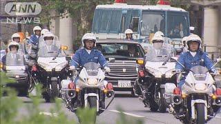 陛下の祝賀パレード 50台の車列でリハーサル(19/10/06)