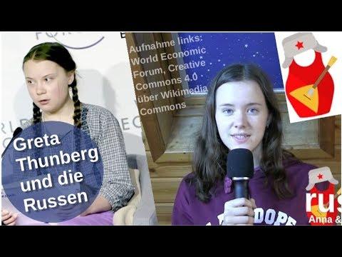 Greta Thunberg und die Russen