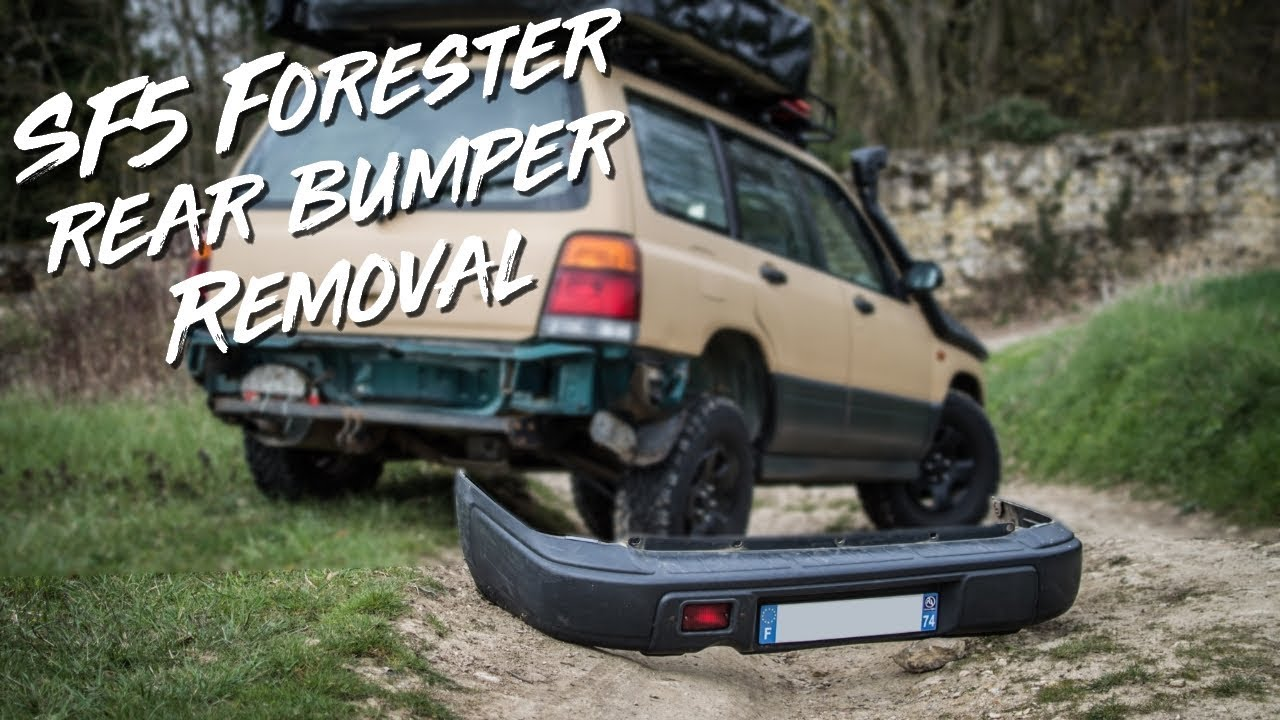 how to remove your sf5 subaru forester rear bumper youtube how to remove your sf5 subaru forester rear bumper