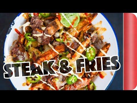 DIY Steak & Cheese Fries... Food Truck Style