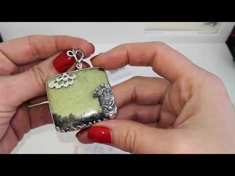 В гостях у ювелиров ФИТ, серебряные украшения с камнями. НОВИНКИ