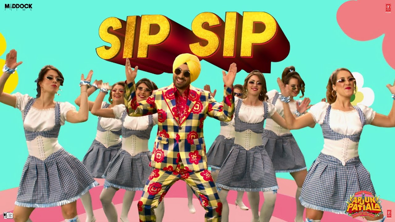 Arjun Patiala: Sip Sip (Video) | Diljit Dosanjh, Kriti Sanon, Varun S | Guru Bhullar Ft. Akash D Watch Online & Download Free