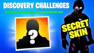 DISCOVERY SKIN COMING in FORTNITE SEASON 8 - SECRET SKIN (Fortnite Battle Royale) WEEK 8