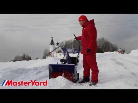 Гусеничный снегоотбрасыватель MasterYard MX 18528LET