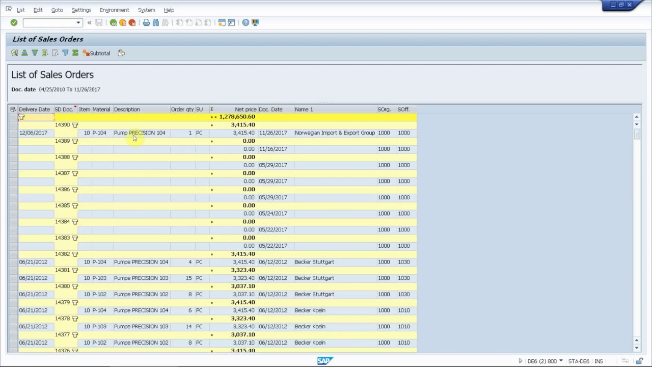 Zendesk: report an SAP authorization problem in VA03 from the SAP GUI