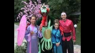 видео Япона-пати, или как провести вечеринку в японском стиле