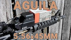 Aguila 62 grain 5.56: The new standard in ammunition