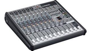 Consola Para Micrófonos / Mixer Microphone / Mackie PROFX12 my review