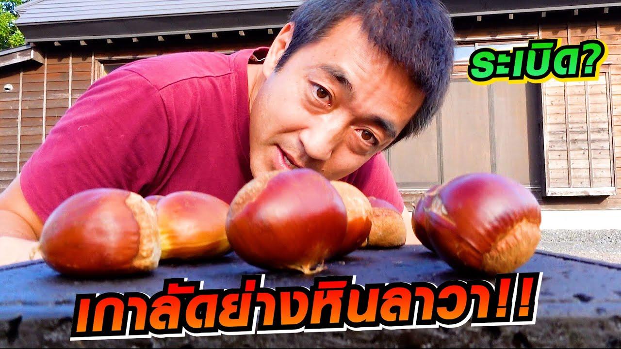 เกาลัดย่างหินลาวา!! จะอร่อยแค่ไหนมาดูกัน SUGOI JAPAN Ep 418