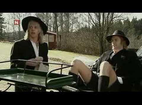 Snabbgrabbar Med Raske Menn - Amish på sørlandet
