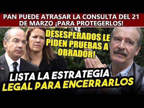 AMLO tiene lista la estrategia legal para detener a Fox y Calderón, expresidentes piden pruebas