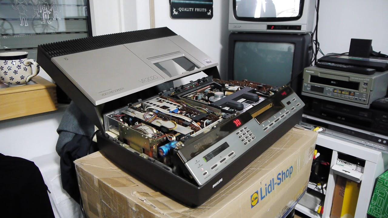 Philips Vr 2020 Videorekorder Video 2000 Vcr 1983