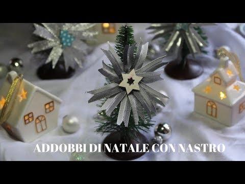 spesso 🎄ADDOBBI DI NATALE CON NASTRO🎄 - YouTube XT98
