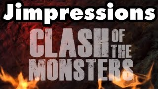 CLASH OF THE MONSTERS - Living Dreadful
