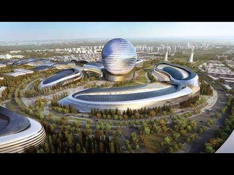 China Pavilion at Astana Expo 2017: future energy, green Silk Road