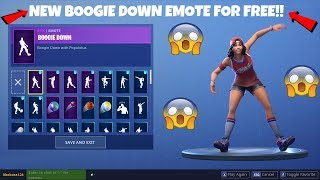 😱 How To Get The New ''BOOGIE DOWN'' EMOTE FOR FREE!! 😱 Fortnite