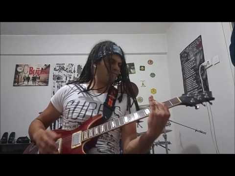 Disturbed - The Night (Guitar Cover By Rıdvan Akparlak)