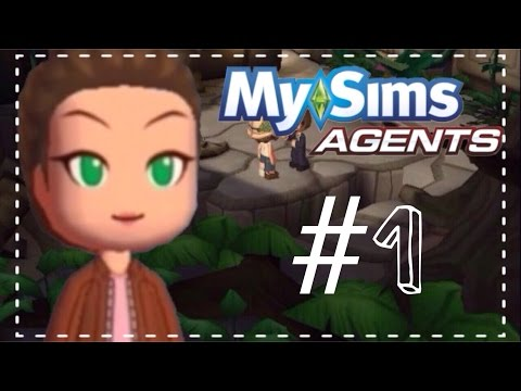Let's Play MySims Agents - #1 The New Detective