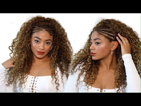 Side Twist Baddie Hairstyle | jasmeannnn thumbnail