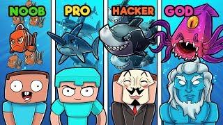 minecraft-underwater-war-noob-vs-pro-vs-god-vs-hacker