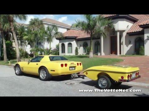 1992 Yellow Corvette Convertible Manual 58k With Hardtop