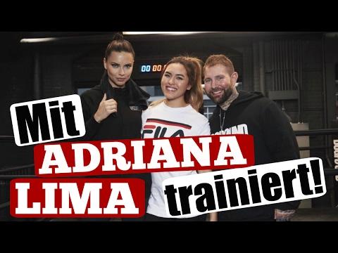 Mit ADRIANA LIMA trainiert in NEW YORK! | ShantiFun