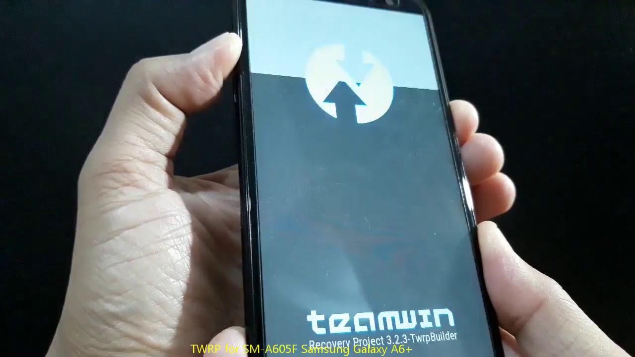 TWRP for SM-A605F Samsung Galaxy A6+