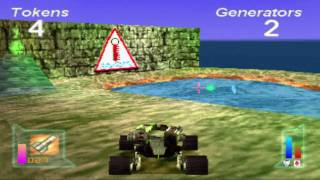 Grudge Warriors gameplay PS1 - H2SO4 vs NORSE FORCE 5