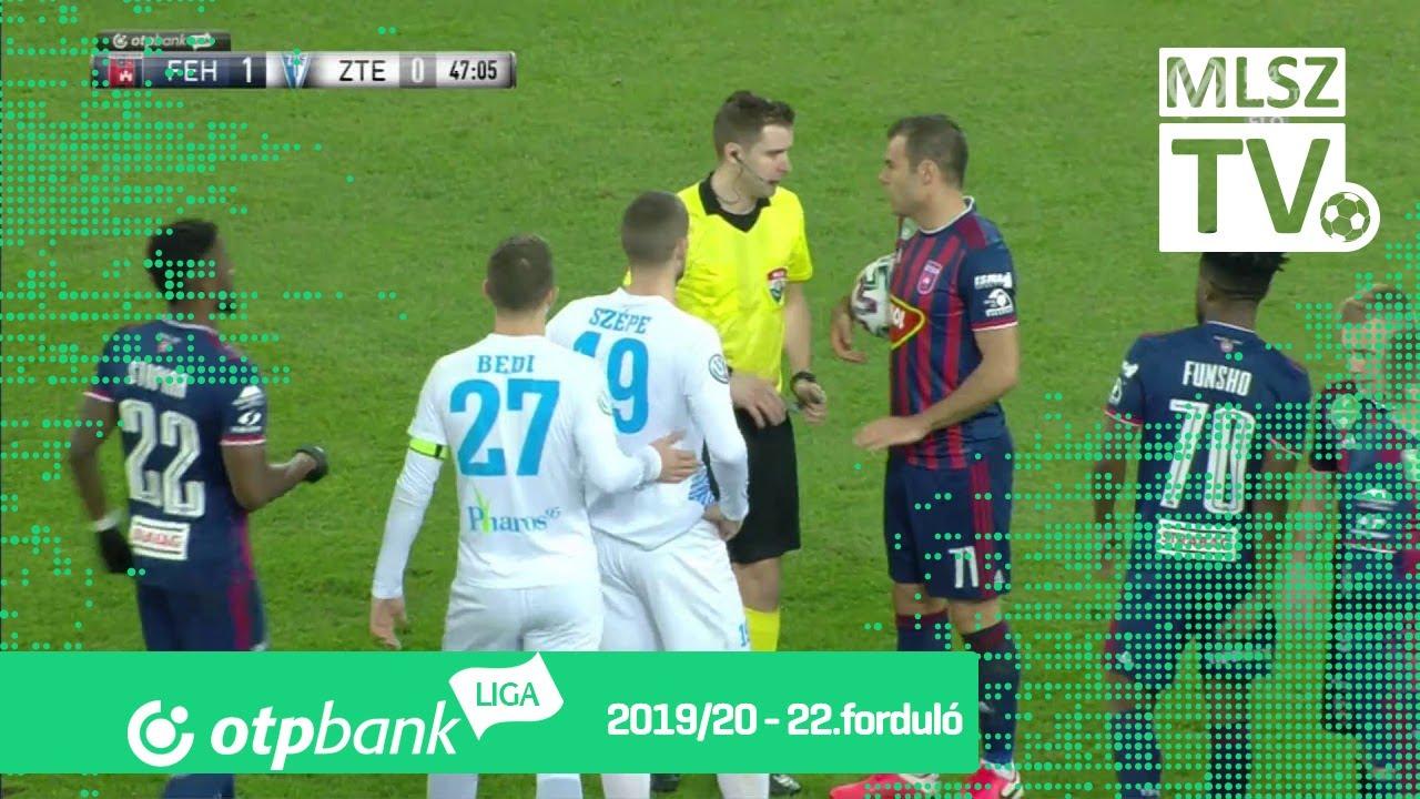 MOL Fehérvár FC – ZTE FC | 4-1 | (1-0) | OTP Bank Liga ...