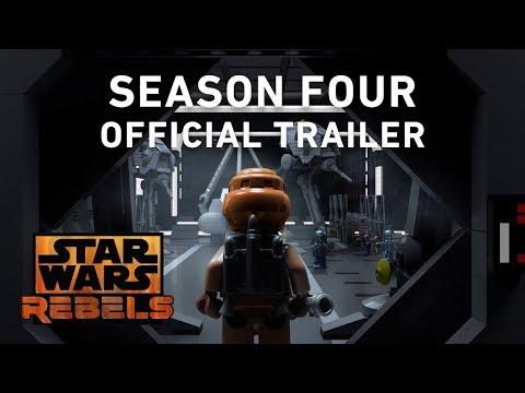 Star Wars Rebels Season 4 Trailer In LEGO