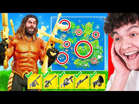 *NEW* I found ALL 5 MYTHIC weapons in ONE GAME and WON...