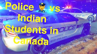 Diwali celebrations in Toronto (Canada) by Indian students!! Police Interrupting